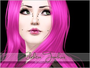 Sims 3 — Elektra Tomkins by Pralinesims — Elektra Tomkins, cute punk girl for you! You MUST install the skintone if you