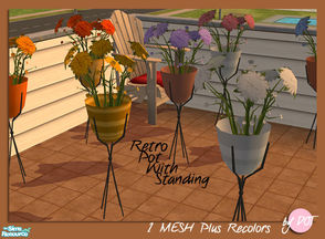 Sims 2 — Plant With Standing by DOT — Plant With Standing. 1 Mesh plus recolors. Sims 2 by DOT of The Sims Resource.