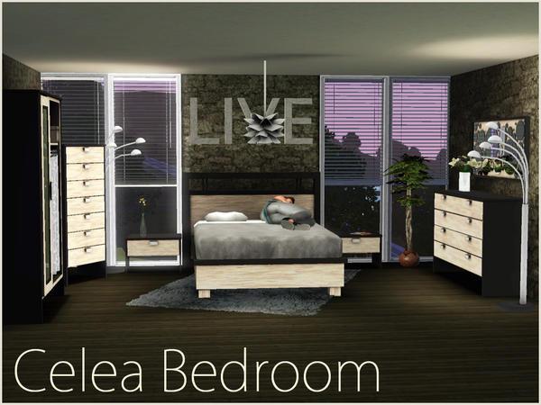 Sim Man123 39 S Celea Bedroom