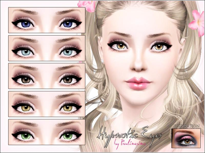 pralinesims hypnotic eyes