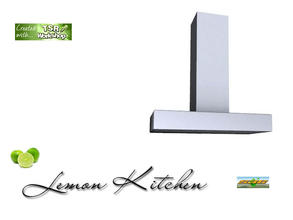 Sims 3 — S3C Lemon Kitchen extractor by ruhrpottbobo — S3C Lemon Kitchen extractor