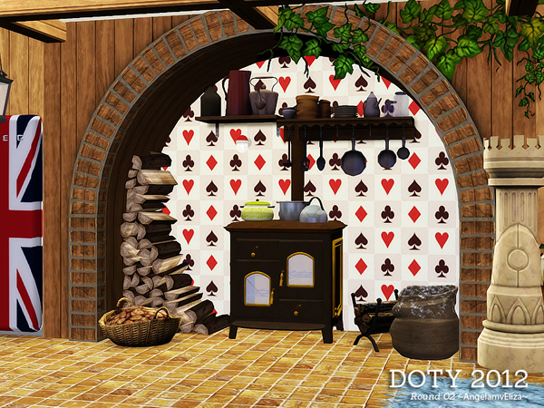 Alice In Wonderland Kitchen
