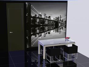 Sims 3 — MURAL CITY  by patrymad — The sparkling lights of New York - now available for your Rooms!