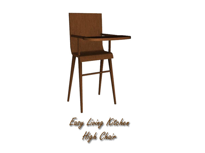 Lulu265 s Easy Living Kitchen High Chair