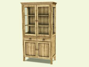 Sims 3 — Cambria Diningroom Cabinet High by AnoeskaB — Part of the Cambria Diningroom. Made by Anoeska for TSR. TSRAA -