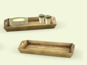 Sims 3 — Cambria Diningroom Serving Tray by AnoeskaB — Part of the Cambria Diningroom. Made by Anoeska for TSR. TSRAA -