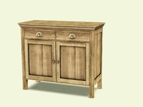 Sims 3 — Cambria Diningroom Cabinet Small by AnoeskaB — Part of the Cambria Diningroom. Made by Anoeska for TSR. TSRAA -