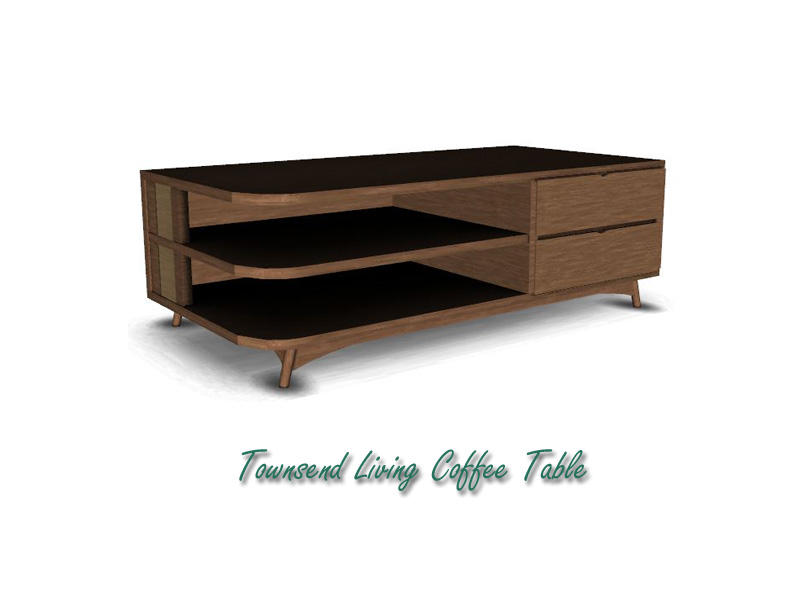 Lulu265 39 S Townsend Living Coffee Table