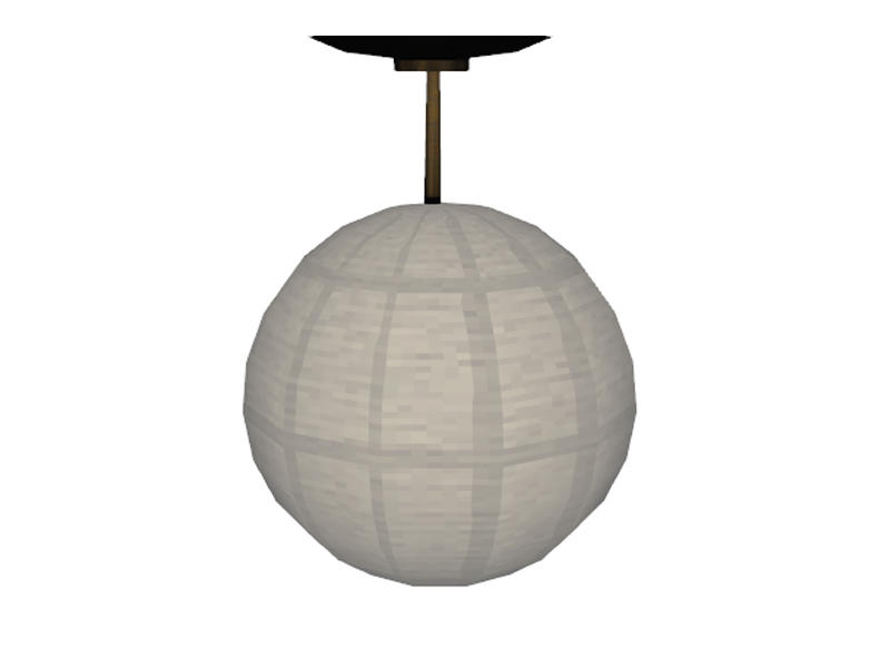 TheNumbersWoman's Ikea Inspired Malm Bedroom Ceiling Light