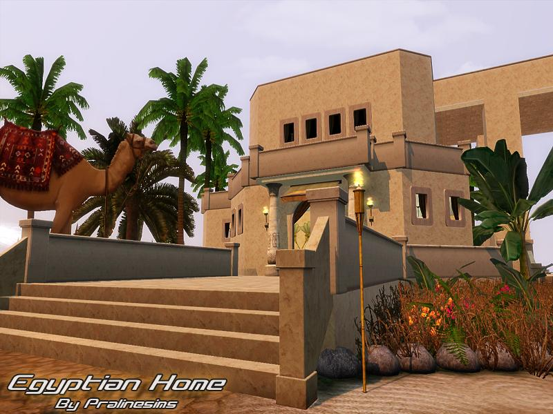 tsr archive 39 s egyptian home. Black Bedroom Furniture Sets. Home Design Ideas
