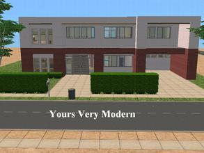 Sims 2 Lots - \'modern house\'