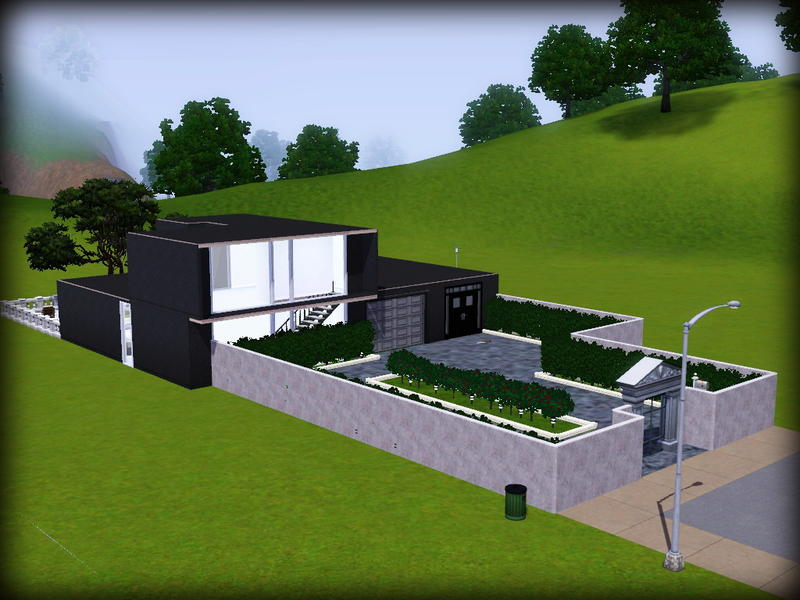 Bby l 39 s simple minimalist house for Simple minimalist house
