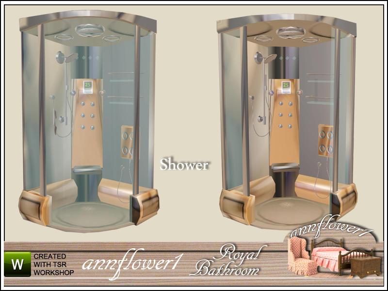 Annflower1s Royal Bathroom Shower 001 AF