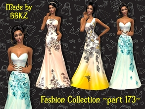 Sims 2 — Fashion Collection - part 173 - by BBKZ — Available as formal for YAs/adults. FREE mesh 068 by Lianaa needed. No