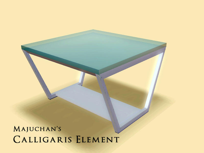 calligaris element coffeetable