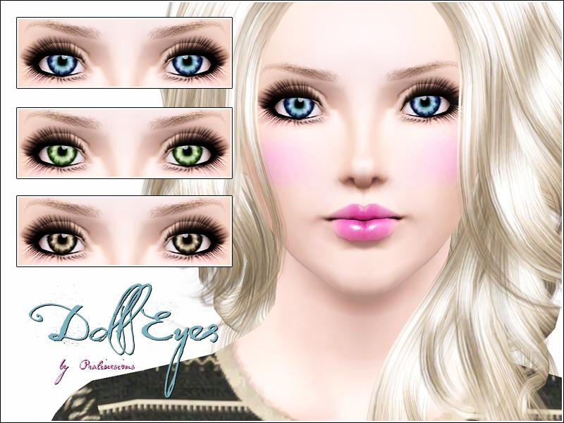 Pralinesims Doll Eyes
