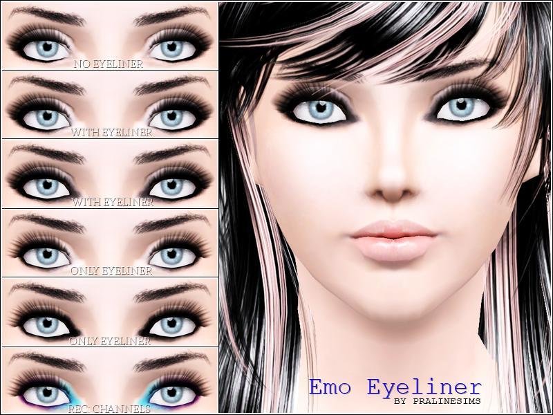 Pralinesims Emo Eyeliner