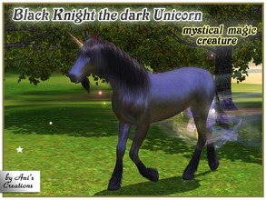 Mod the sims avatar-inspired direhorse.