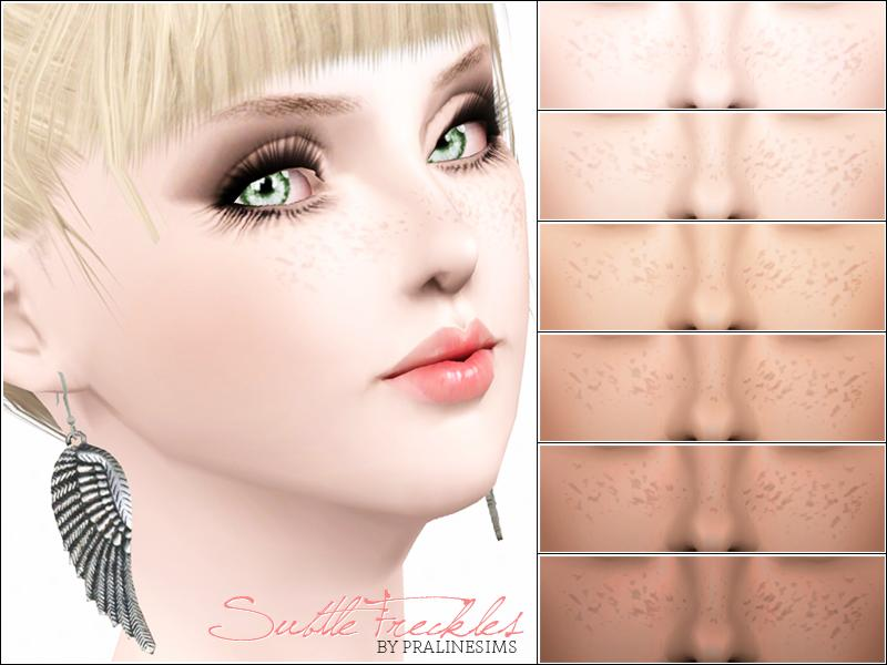 Sims 3 Updates - The Sims Resource : Subtle Freckles by ...