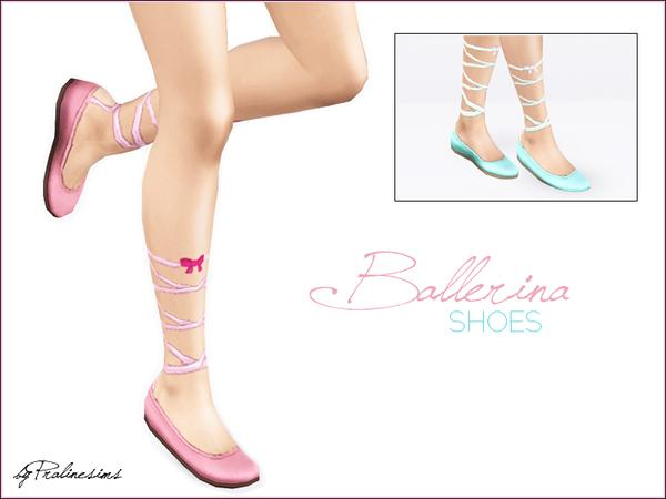 Ballerina Shoes by Pralinesims