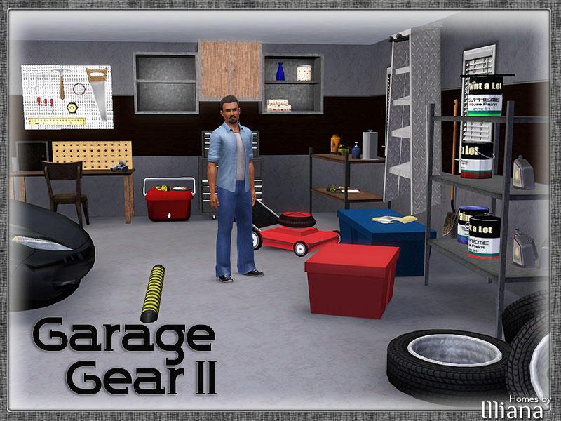 Illiana 39 s garage gear 2 for Sims 4 garage