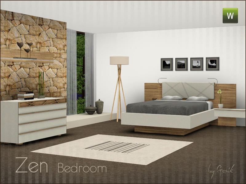 Gosik\'s Zen bedroom