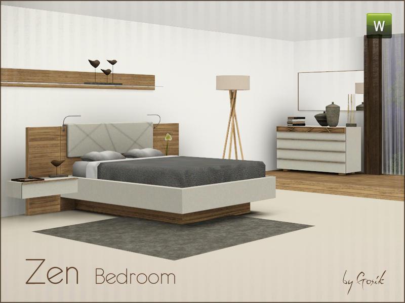 Gosiks Zen Bedroom