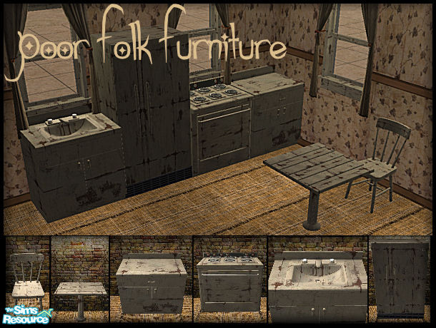 Galilea S Poor Folk Furniture Kitchen