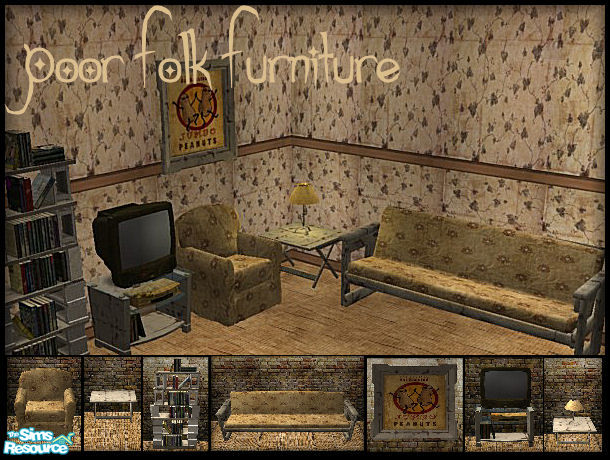 galilea's Poor Folk Furniture - Living Room