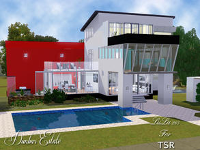 Sims 3 — Dunbar Estate by Lulu265 — Dunbar Estate situated at 1814 Edamary way, is a small modern home for your sims. The