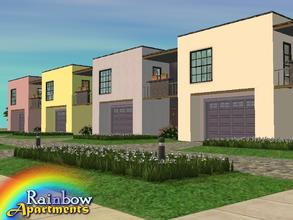 Downloads / sims 2 / lots / apartment lots 'artist'.