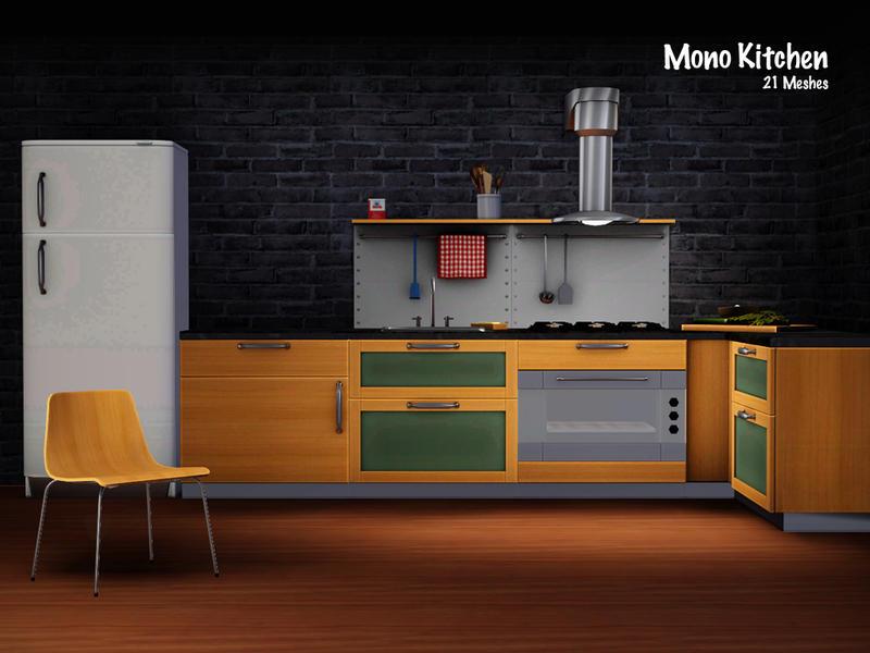 Murano\'s Mono Kitchen