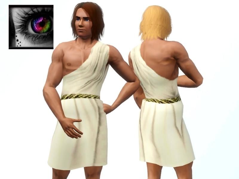 Sims 3 Male Clothing - 'greek'