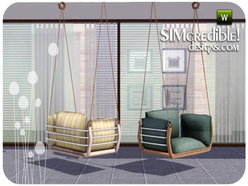 Simcredible S Summer Illusion Hanging Chair