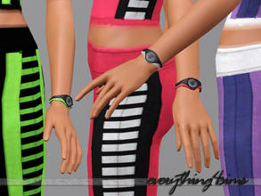 Sims 3 — New Balance_Vent Mini Sport Watch by everything4sims2 — This watch is designed for the female sims who wants to