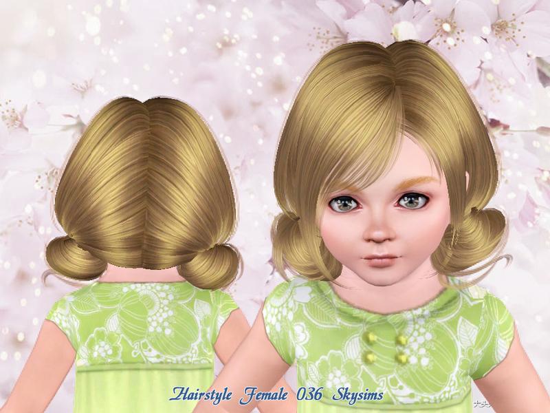 Skysims Hair Toddler 036