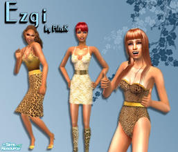 Sims 2 — Ezgi Set by filizk — 2 everyday outfits and 1 swimwear for female adults dedicated to my new born niece Ezgi.