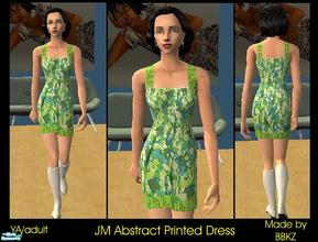 Sims 2 red dress 80s