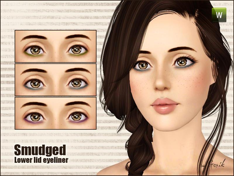 Makeup tutorial thick bottom lid eyeliner youtube.