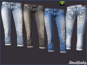 Sims 3 — 242 Casual jeans by sims2fanbg — .:242 Casual set:. Jeans in 3 recolors,Recolorable,Launcher Thumbnail. I hope u