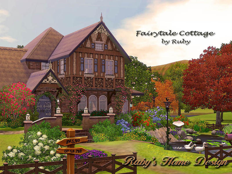 Ruby1023 S Fairytale Cottage