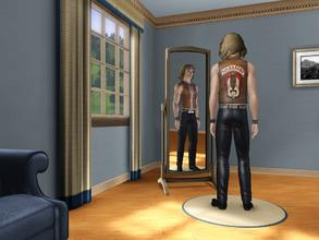 Sims 3 — The Warriors Outfit by narro2 — I've done an outfit based on The Warriors film. It's just a stencil on the