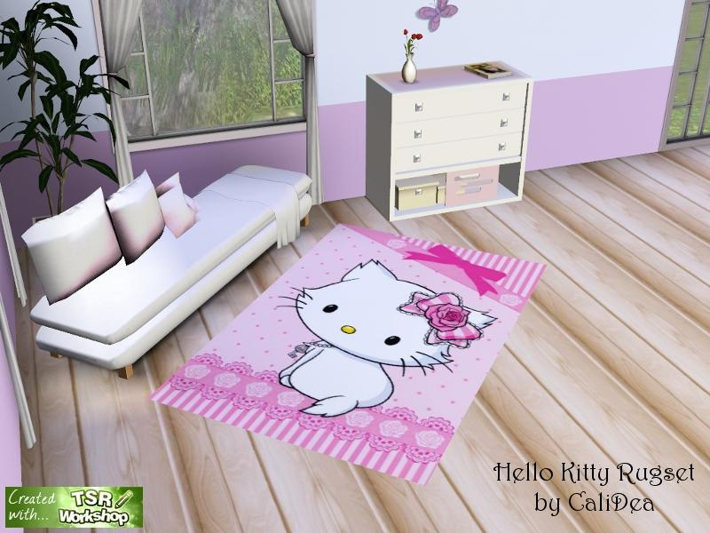 Calidea 39 s hello kitty rugset for Chambre hello kitty