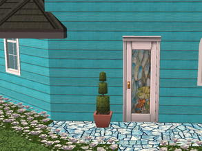 Sims 2 — Colorful Siding Set - pool by zaligelover2 — Siding.