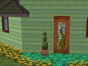 Sims 2 — Colorful Siding Set - aquatic by zaligelover2 — Siding.