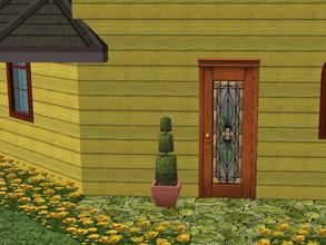 Sims 2 — Colorful Siding Set - lime by zaligelover2 — Siding.