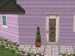 Sims 2 — Colorful Siding Set - periwinkle by zaligelover2 — Siding.