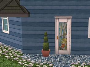 Sims 2 — Colorful Siding Set - navy by zaligelover2 — Siding.