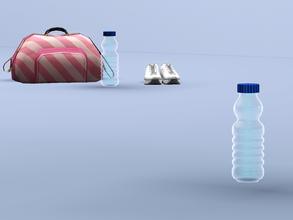 Sims 3 — Water Bottle by Cyclonesue — Suitable for purists and health freaks everywhere. Everyone else meet at the bar
