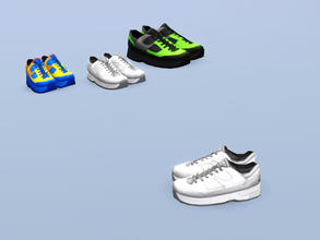 Sims 3 — Training Shoes (Medium) by Cyclonesue — There is no better placeholder than a pair of smelly shoes. Keep all